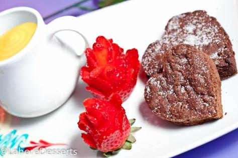 Valentines Special Shoot for Lahore Desserts